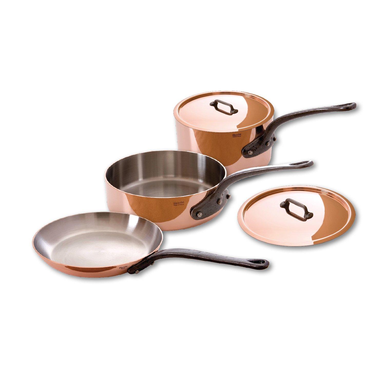 Mauviel 5 Piece Copper Cookware Set