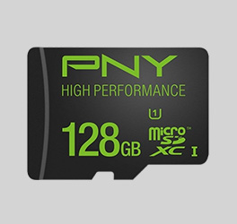 Up to 50% off Select PNY High Performance microSD Cards