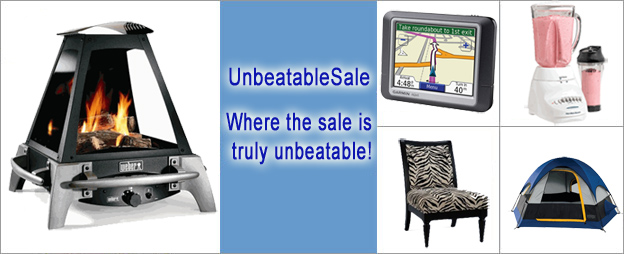 Save % off retail prices everyday by shopping at UnbeatableSale. With literally unbeatable sales that are revealed daily, you're sure to find exactly what you need at a price you'll love.
