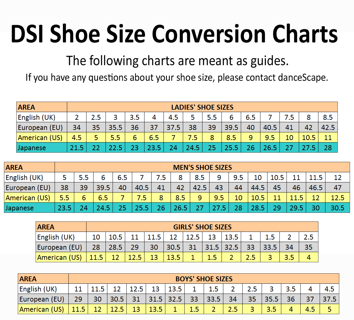 Uk shoe size chart images printable shoe size chart for nvjuhfo Images