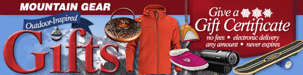 Unique, outdoor-inspired gifts at Mountain Gear