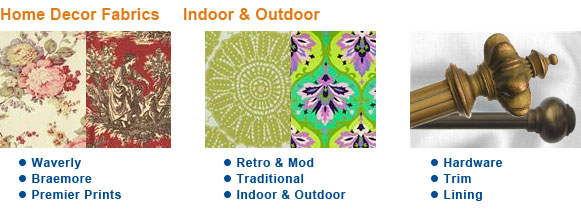 Home Decor Fabrics Indoor & Outdoor