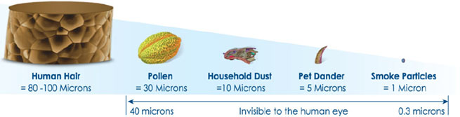 How Small is 0.3 Microns