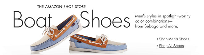 The Amazon Shoe Store - Men's Boat Shoes