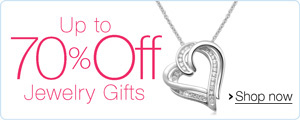 Up to 70% Off Jewelry Gifts
