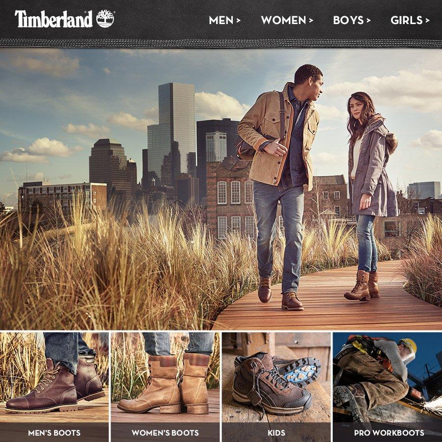 timberland usa online