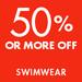 50% or More Off Swim