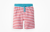 Egg by Susan Lazar Striped Board Shorts