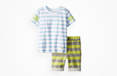 Rosie Pope Baby Boys' Graphic-Print Set