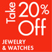 Take 20% Off Jewelry & Watches
