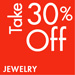 Take 30% Off Jewelry & Watches