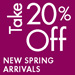 Take 20% Off | New Arrivals in Shoes & Handbags