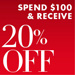 20% Off Shoes & Handbags