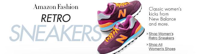 Women's Retro Sneakers