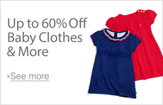 Baby Sale: Up to 60% Off Baby Clothing, Gear & More