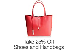 25% Off Shoes & Handbags