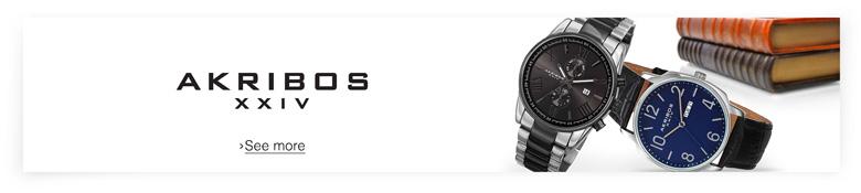 Akribos Men's Watches