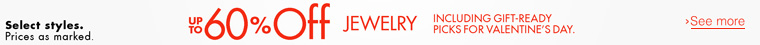 Up to 60% Off Men's Jewelry