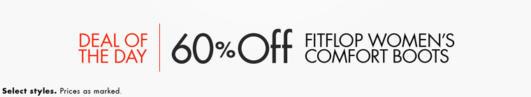 Deal of the Day: 60% Off FitFlop Women's Boots
