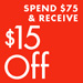 Take $15 Off $75 Athletic Shoes