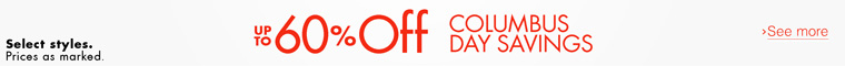 Up to 60% Off Clothing, Shoes & More