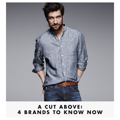 Four Mens Brands To Know Now