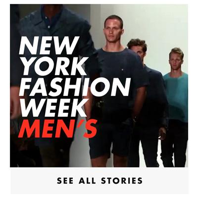 New York Mens Fashion Week Home