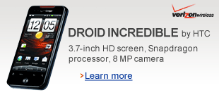 Droid Incredible by HTC