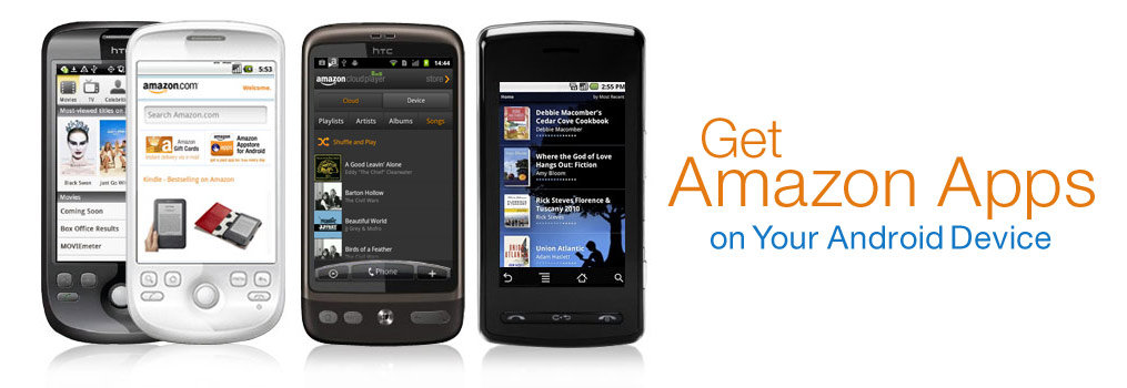 Amazon Mobile Apps available for Android
