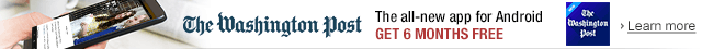 The Washington Post: 6 Months Free