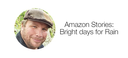 Amazon Stories. Bright days for J.R. Rain.