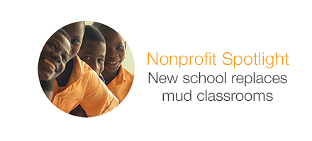 Nonprofit Spotlight. How customers build classrooms