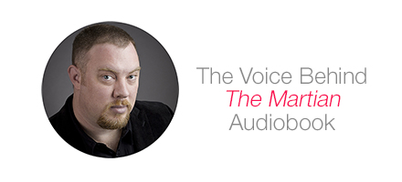 The Voice Behind The Martian Audiobook