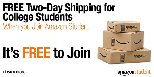 Amazon Student: Free Two-Day Shipping for six months, discounted Prime, and other exclusive deals for college students