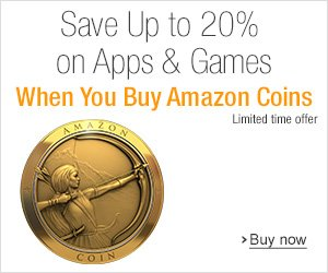 Amazon Coins Promo
