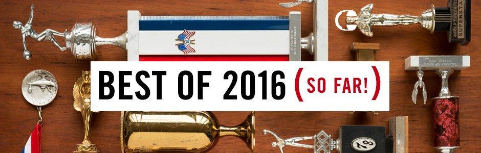 Best of 2016 (so far!)