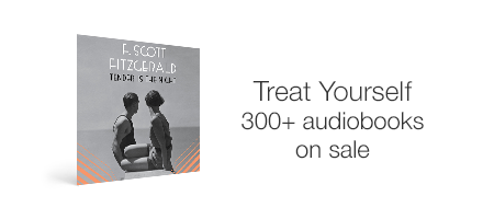 Audible Treat Yourself Sale