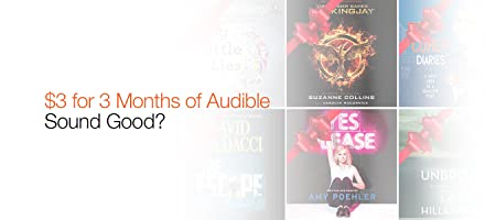 Audible $3 for 3 Months