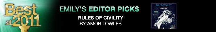 Best of 2011: Emily's Editor Picks