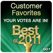 Best of 2011: Customer Favorites