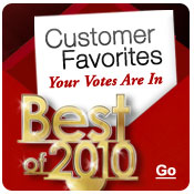 Best of 2010: Customer Favorites