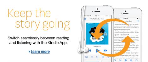 Amazon/Audible per mettere in continuità lettura e ascolto negli ebook per le applicazioni Kindle. Testo e audio sono sincronizzati anche su device e app differenti.