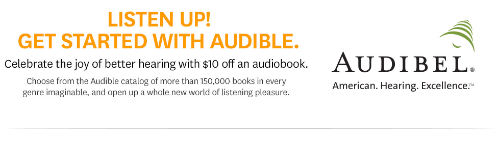 Audibel customers: Get $10 off your next purchase.
