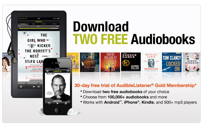 Try Audible today and get your first month free! free day trial. Click to Try Audible Free $ per month after 30 days. Cancel anytime. Our worry-free promise You won't be charged at all until after 30 days. No Commitments. Cancel anytime. Don't like an audiobook? Swap it for free. Keep your audiobooks forever, even if you cancel.