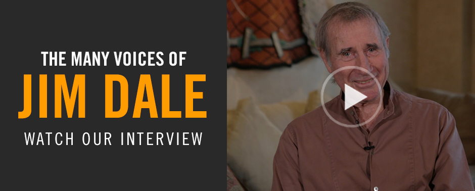 Watch our interview with Jim Dale