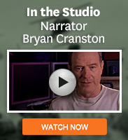 Click to see an interview with narrator Bryan Cranston