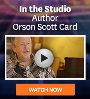Click to watch a video of author Orson Scott Card