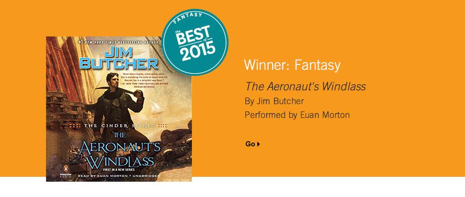 Best Fantasy 2015: The Aeronaut's Windlass by Jim Butcher