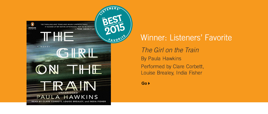 Listeners' Favorite: Girl on a Train by Paula Hawkings