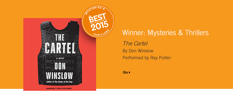 Best Mysteries & Thrillers 2015: The Cartel by Don Winslow